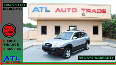 2008 Hyundai Tucson for sale at ATL Auto Trade, Inc. in Stone Mountain GA