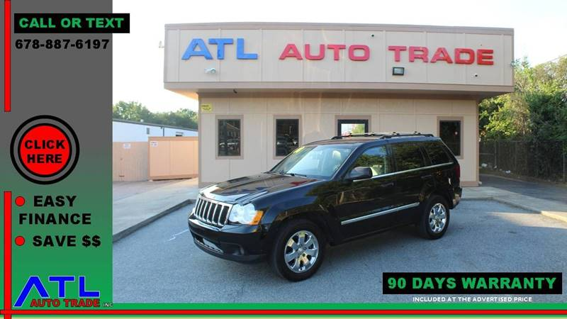 2008 Jeep Grand Cherokee For Sale At ATL Auto Trade, Inc. In Stone Mountain