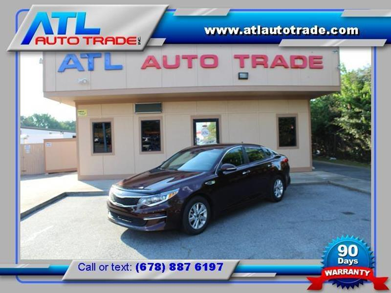 2016 Kia Optima for sale at ATL Auto Trade, Inc. in Stone Mountain GA