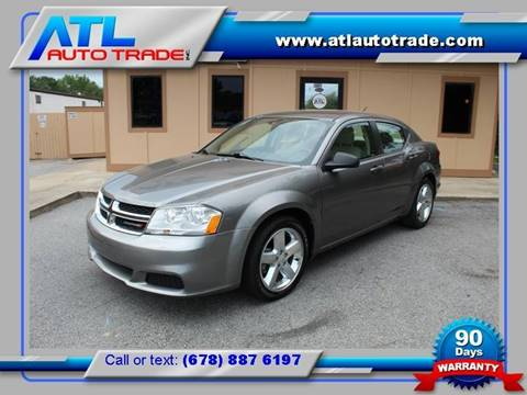 2013 Dodge Avenger for sale in Stone Mountain, GA