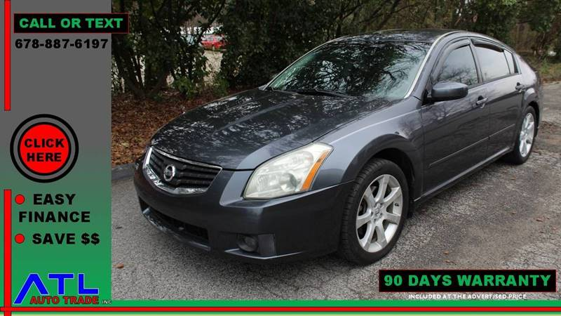 2008 Nissan Maxima For Sale At ATL Auto Trade, Inc. In Stone Mountain GA