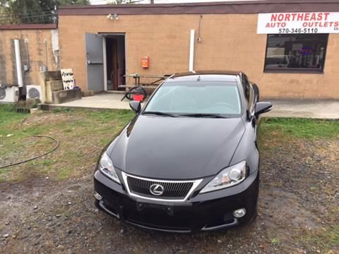 2013 Lexus IS 250C for sale in Scranton, PA