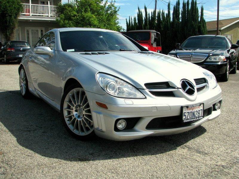2007 mercedes benz slk class slk55 amg 2dr convertible in for Mercedes benz los angeles dealers