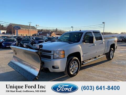 2013 Chevrolet Silverado 2500HD for sale at Unique Motors of Chicopee - Unique Ford in Goffstown NH
