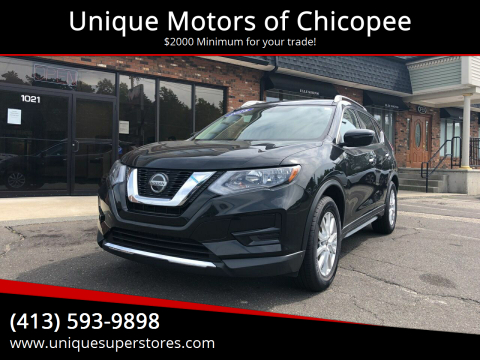 2018 Nissan Rogue for sale at Unique Motors of Chicopee in Chicopee MA