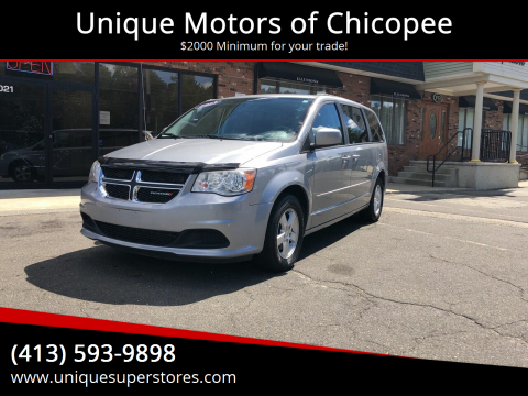 2013 Dodge Grand Caravan for sale at Unique Motors of Chicopee in Chicopee MA