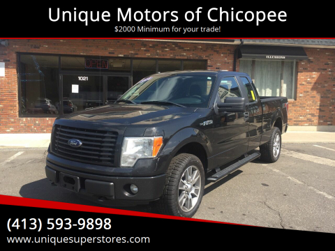 2014 Ford F-150 for sale at Unique Motors of Chicopee in Chicopee MA