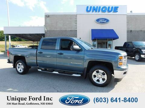 2014 Chevrolet Silverado 1500 for sale at Unique Motors of Chicopee - Unique Ford in Goffstown NH