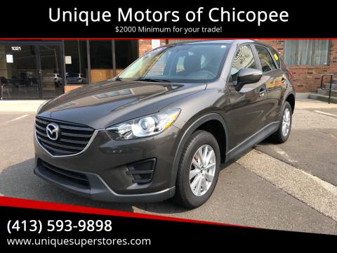 2016 Mazda CX-5 for sale at Unique Motors of Chicopee in Chicopee MA