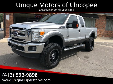 2012 Ford F-250 Super Duty for sale at Unique Motors of Chicopee in Chicopee MA