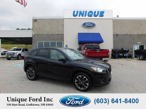 2016 Mazda CX-5 for sale at Unique Motors of Chicopee - Unique Ford in Goffstown NH
