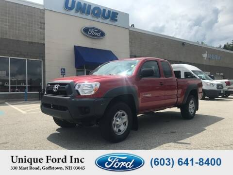 2015 Toyota Tacoma for sale at Unique Motors of Chicopee - Unique Ford in Goffstown NH