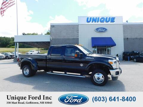 2016 Ford F-350 Super Duty for sale at Unique Motors of Chicopee - Unique Ford in Goffstown NH