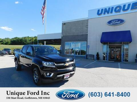 2018 Chevrolet Colorado for sale at Unique Motors of Chicopee - Unique Ford in Goffstown NH
