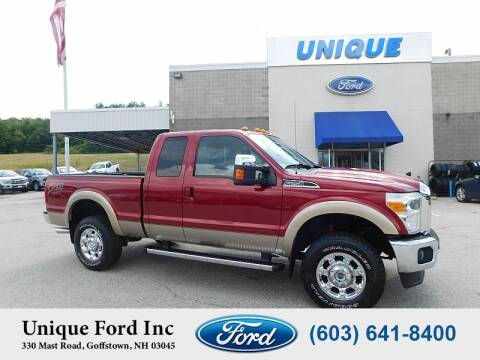 2014 Ford F-250 Super Duty for sale at Unique Motors of Chicopee - Unique Ford in Goffstown NH