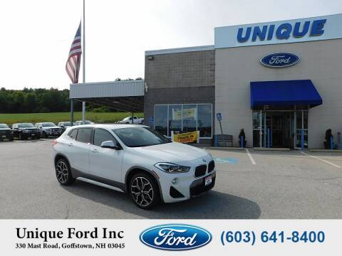 2018 BMW X2 for sale at Unique Motors of Chicopee - Unique Ford in Goffstown NH