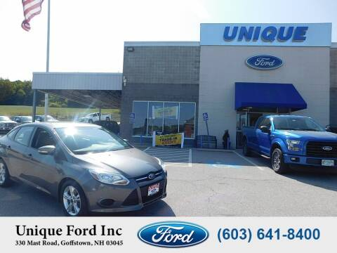 2014 Ford Focus for sale at Unique Motors of Chicopee - Unique Ford in Goffstown NH