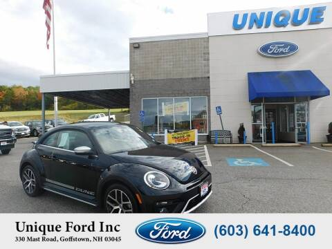 2016 Volkswagen Beetle for sale at Unique Motors of Chicopee - Unique Ford in Goffstown NH