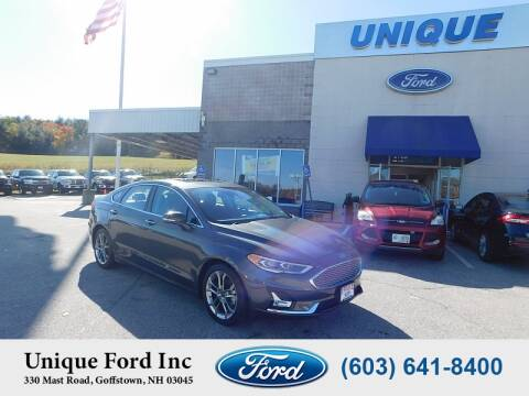 2020 Ford Fusion Hybrid for sale at Unique Motors of Chicopee - Unique Ford in Goffstown NH