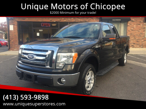 2010 Ford F-150 for sale at Unique Motors of Chicopee in Chicopee MA