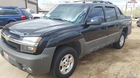 2002 Chevrolet Avalanche for sale in Yankton SD