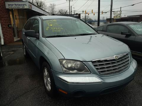 2006 Chrysler Pacifica for sale at IMPORT MOTORSPORTS in Hickory NC