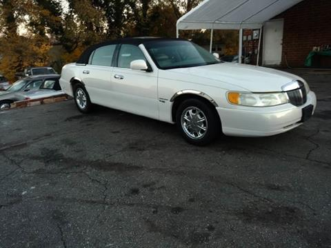 Used 1998 Lincoln Town Car For Sale In West Virginia Carsforsale Com