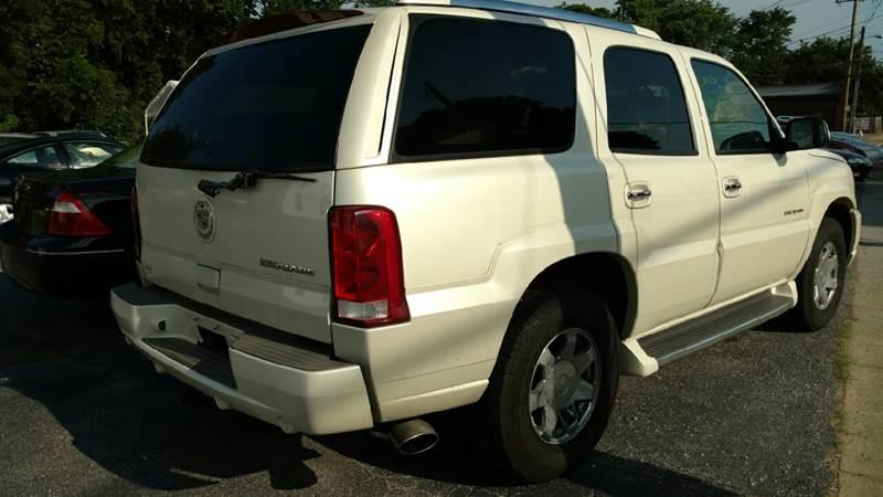 2004 Cadillac Escalade AWD 4dr SUV - Hickory NC