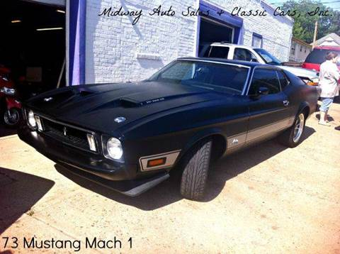 1973 Ford Mustang for sale at MIDWAY AUTO SALES & CLASSIC CARS INC in Fort Smith AR