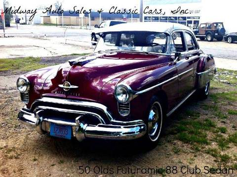 1950 Oldsmobile 88 4 door Sedan for sale at MIDWAY AUTO SALES & CLASSIC CARS INC in Fort Smith AR
