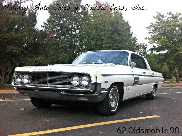 1962 Oldsmobile Ninety-Eight for sale at MIDWAY AUTO SALES & CLASSIC CARS INC in Fort Smith AR