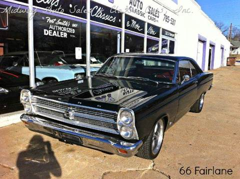 1966 Ford Fairlane for sale at MIDWAY AUTO SALES & CLASSIC CARS INC in Fort Smith AR
