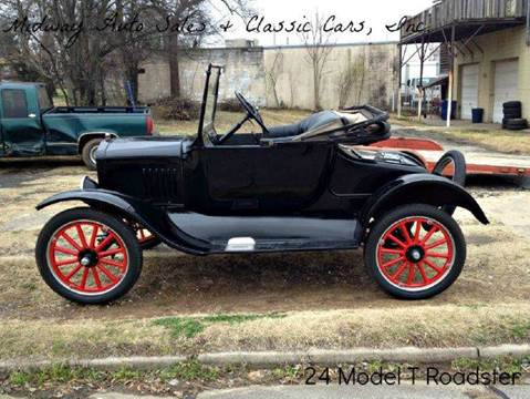 1924 Ford Model T for sale at MIDWAY AUTO SALES & CLASSIC CARS INC in Fort Smith AR