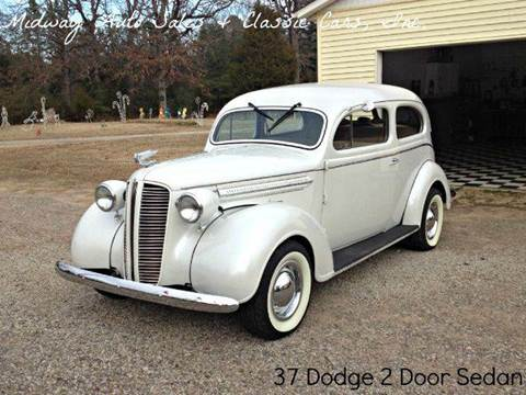 1937 Dodge 2 Door Sedan for sale at MIDWAY AUTO SALES & CLASSIC CARS INC in Fort Smith AR