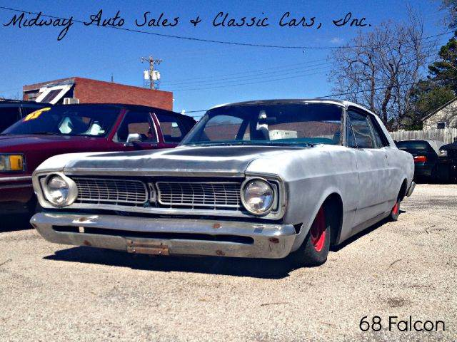 1968 Ford Falcon for sale at MIDWAY AUTO SALES & CLASSIC CARS INC in Fort Smith AR