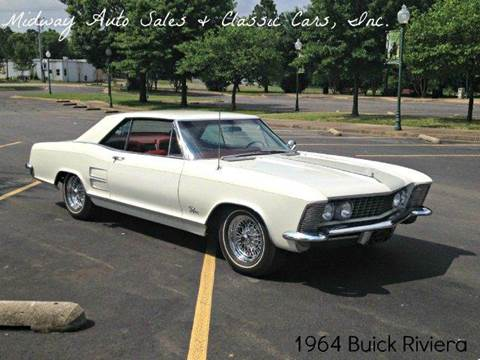 1964 Buick Riviera for sale at MIDWAY AUTO SALES & CLASSIC CARS INC in Fort Smith AR