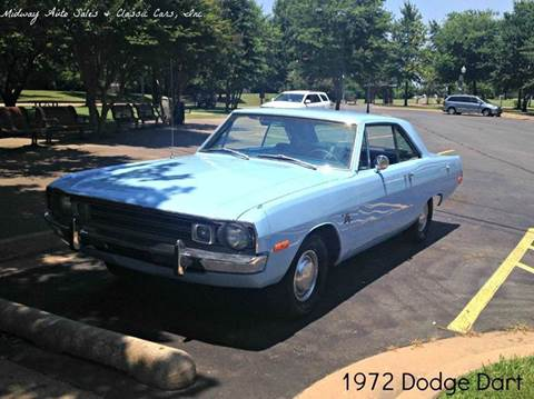 1972 Dodge Dart for sale at MIDWAY AUTO SALES & CLASSIC CARS INC in Fort Smith AR