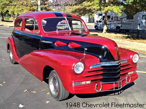 1948 Chevrolet Fleetmaster for sale at MIDWAY AUTO SALES & CLASSIC CARS INC in Fort Smith AR