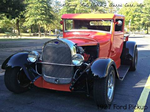1927 Ford Pickup for sale at MIDWAY AUTO SALES & CLASSIC CARS INC in Fort Smith AR