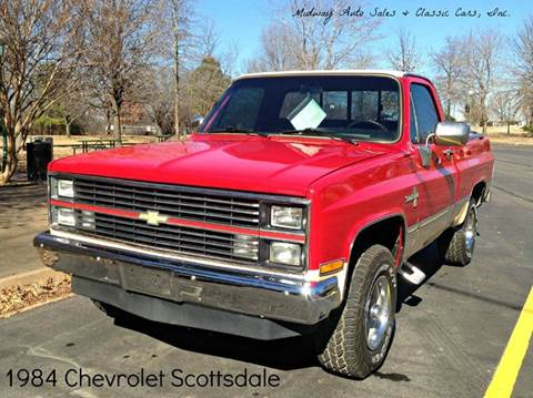 1984 Chevrolet C/K 10 Series for sale at MIDWAY AUTO SALES & CLASSIC CARS INC in Fort Smith AR