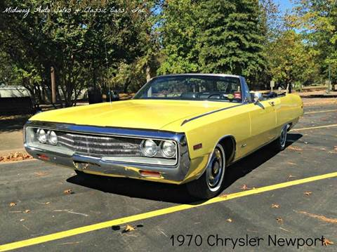 1970 Chrysler Newport for sale at MIDWAY AUTO SALES & CLASSIC CARS INC in Fort Smith AR