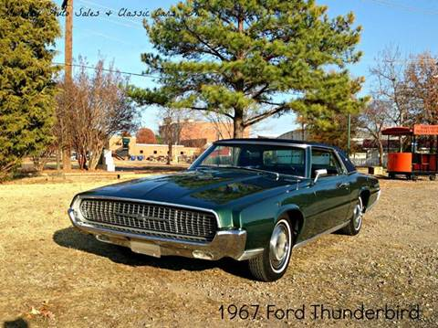 1967 Ford Thunderbird for sale at MIDWAY AUTO SALES & CLASSIC CARS INC in Fort Smith AR
