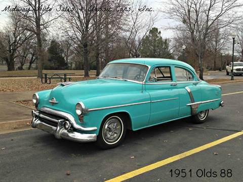 1951 Oldsmobile 88 for sale at MIDWAY AUTO SALES & CLASSIC CARS INC in Fort Smith AR