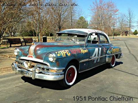 1951 Pontiac Chieftain for sale at MIDWAY AUTO SALES & CLASSIC CARS INC in Fort Smith AR