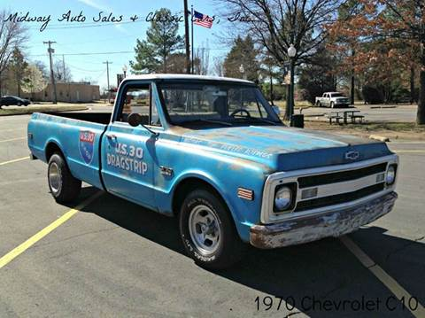 1970 Chevrolet C/K 10 Series for sale at MIDWAY AUTO SALES & CLASSIC CARS INC in Fort Smith AR