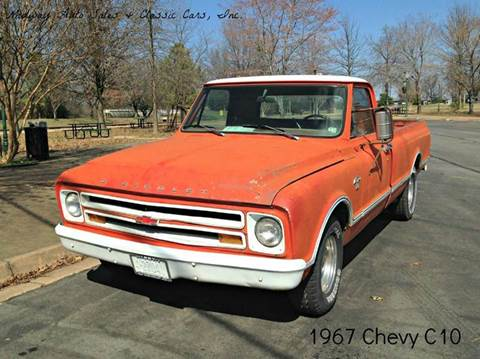 1967 Chevrolet C/K 10 Series for sale at MIDWAY AUTO SALES & CLASSIC CARS INC in Fort Smith AR