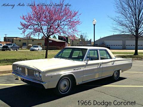 1966 Dodge Coronet for sale at MIDWAY AUTO SALES & CLASSIC CARS INC in Fort Smith AR