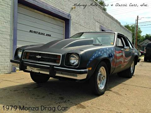 1979 Chevrolet Monza for sale at MIDWAY AUTO SALES & CLASSIC CARS INC in Fort Smith AR
