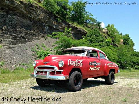 1949 Chevrolet Fleetline for sale at MIDWAY AUTO SALES & CLASSIC CARS INC in Fort Smith AR