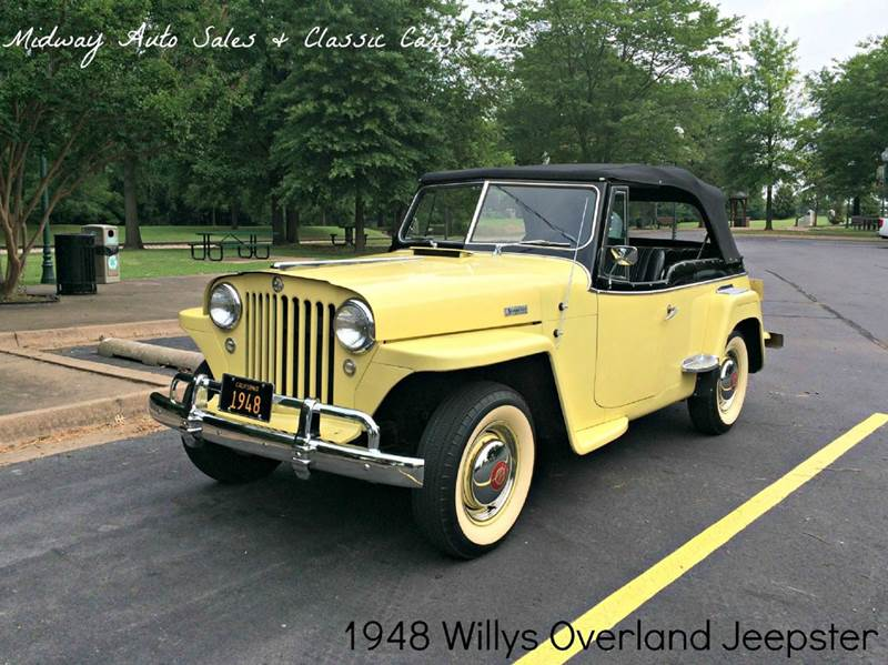 1948 Willys Jeepster for sale at MIDWAY AUTO SALES & CLASSIC CARS INC in Fort Smith AR